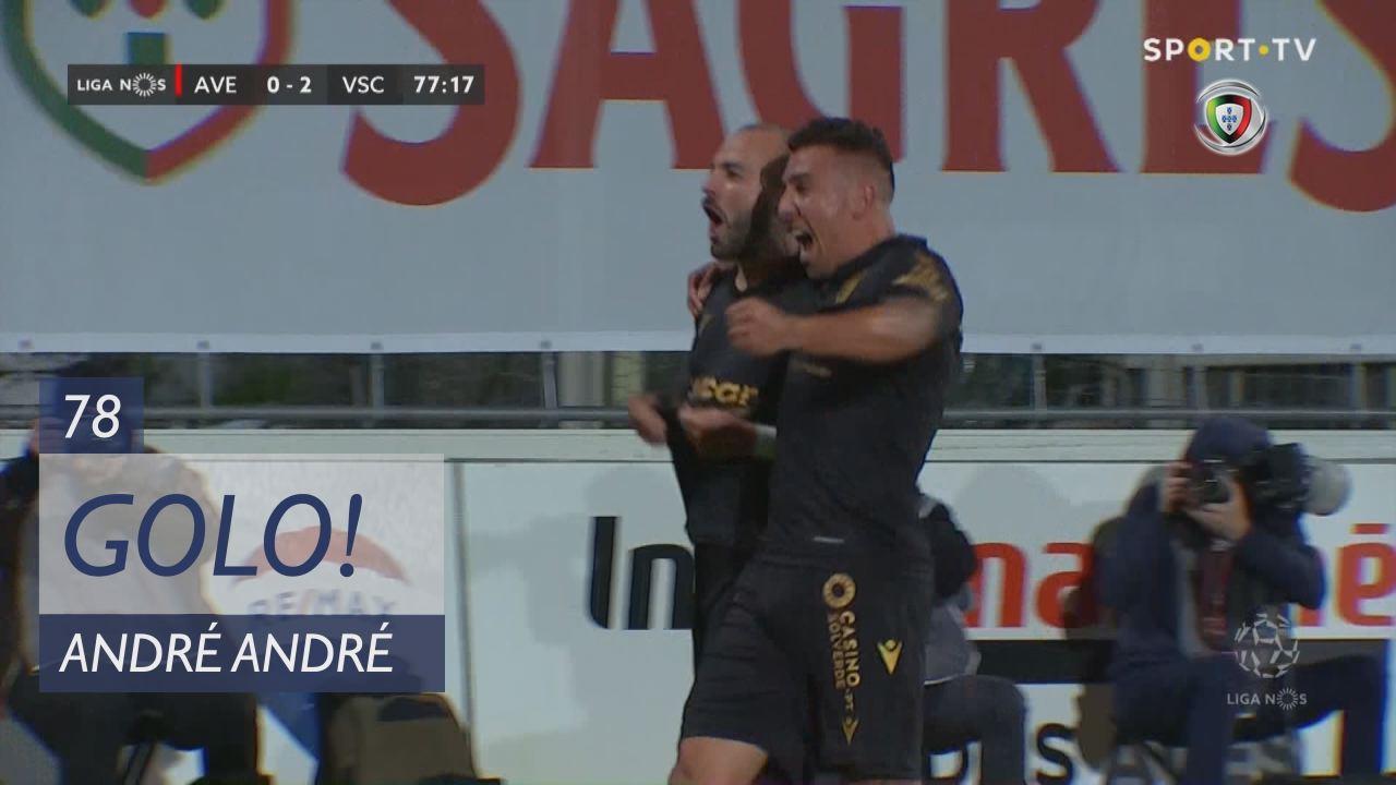 GOLO! Vitória SC, André André aos 78', CD Aves 0-2 Vitória SC