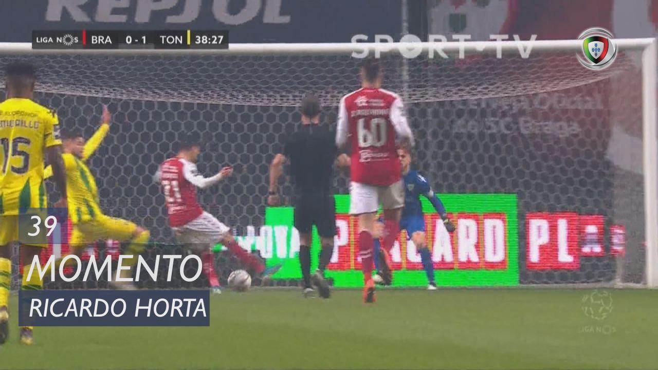 SC Braga, Jogada, Ricardo Horta aos 39'