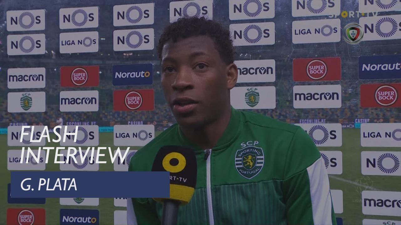 Liga (22ª): Flash Interview G. Plata