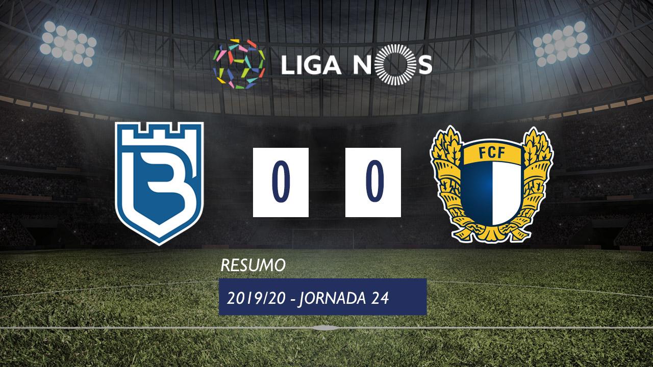 Liga NOS (24ªJ): Resumo Belenenses 0-0 FC Famalicão