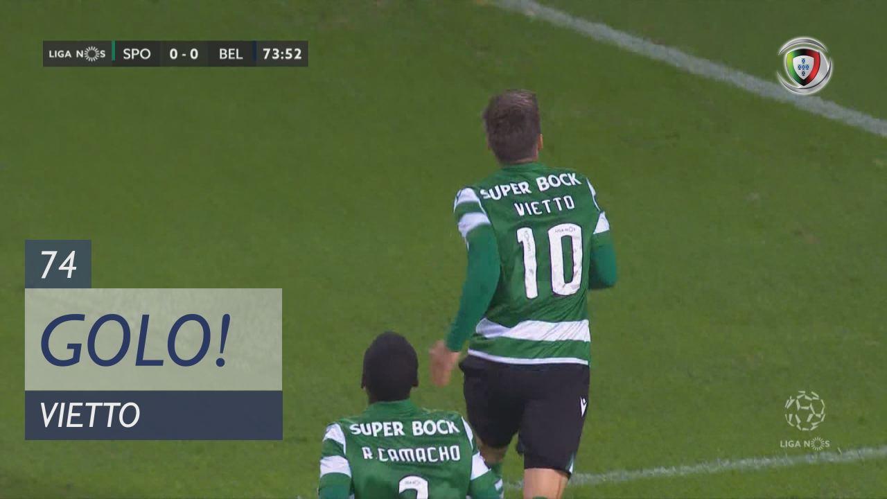 GOLO! Sporting CP, Vietto aos 74', Sporting CP 1-0 Belenenses