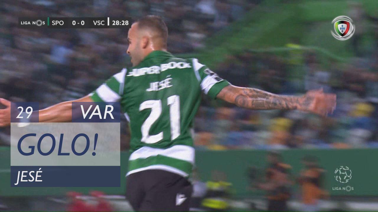 GOLO! Sporting CP, Jesé aos 29', Sporting CP 1-0 Vitória SC