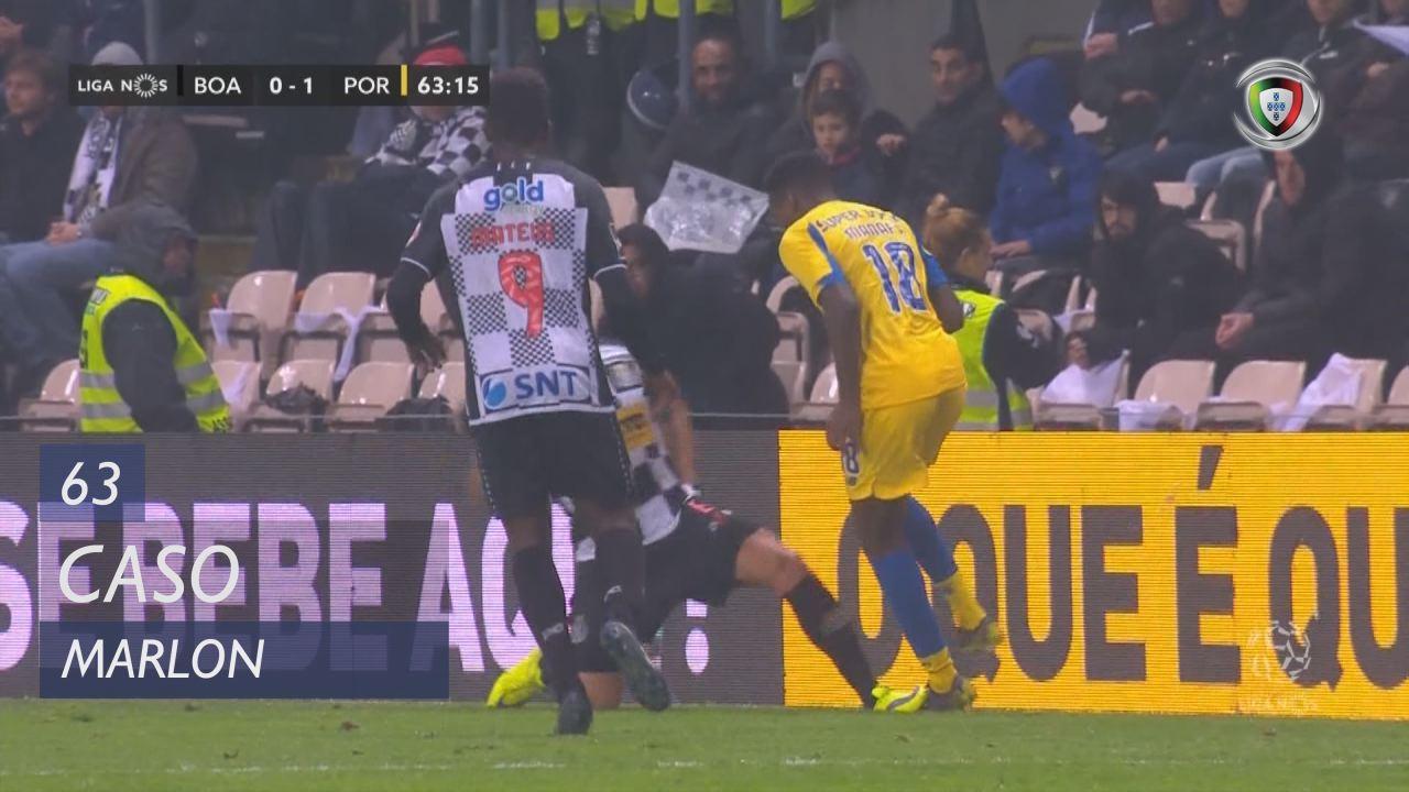 Boavista FC, Caso, Marlon aos 63'