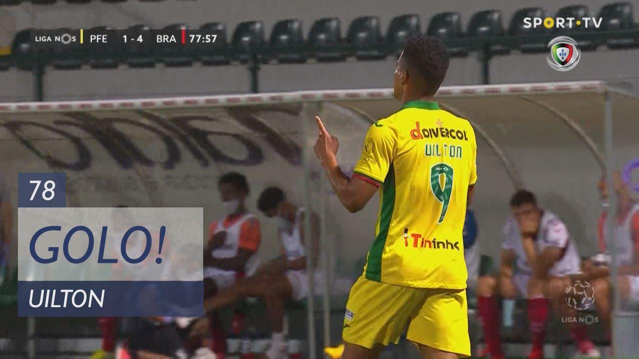 GOLO! FC P.Ferreira, Uilton aos 78', FC P.Ferreira 1-4 SC Braga