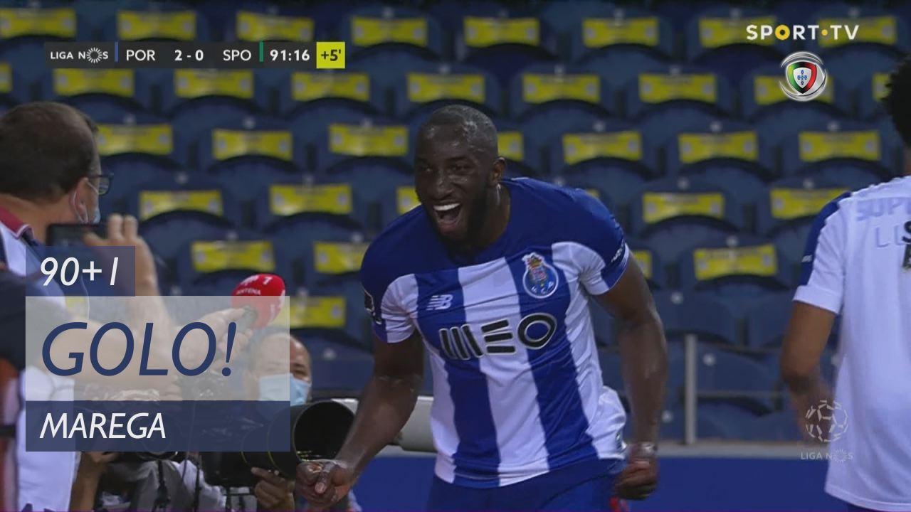 GOLO! FC Porto, Marega aos 90'+1', FC Porto 2-0 Sp...