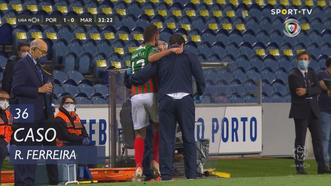 Marítimo M., Caso, Rúben Ferreira aos 36'
