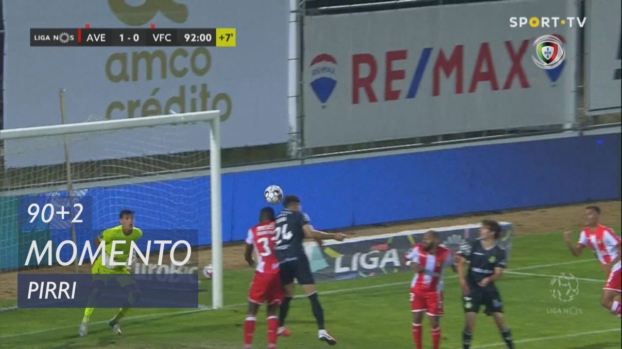 Vitória FC, Jogada, Pirri aos 90'+2'