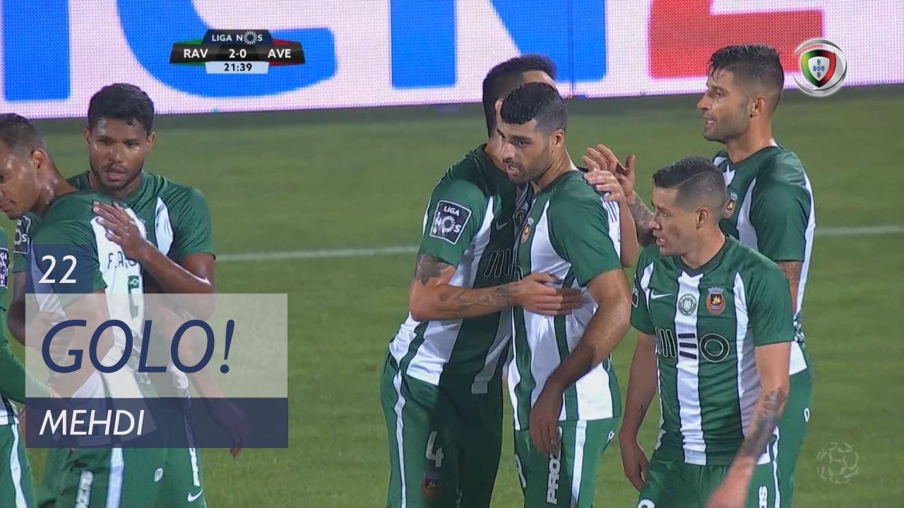 GOLO! Rio Ave FC, Mehdi aos 22', Rio Ave FC 2-0 CD Aves