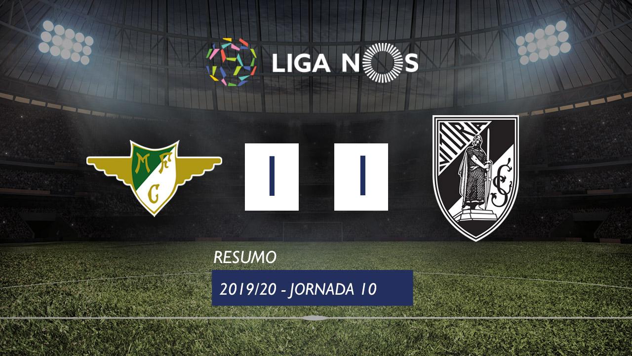 I Liga (10ªJ): Resumo Moreirense FC 1-1 Vitória SC