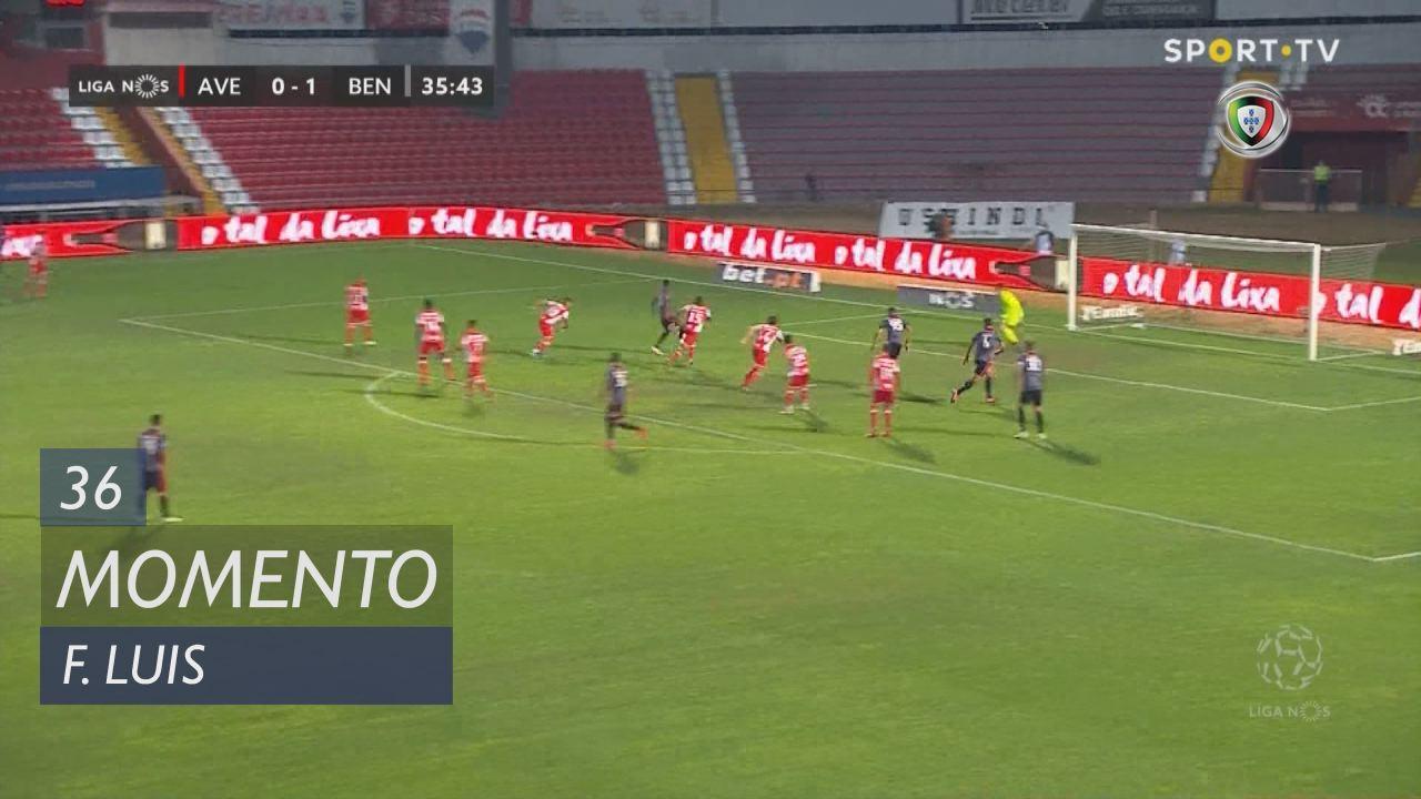 SL Benfica, Jogada, Florentino Luís aos 36'