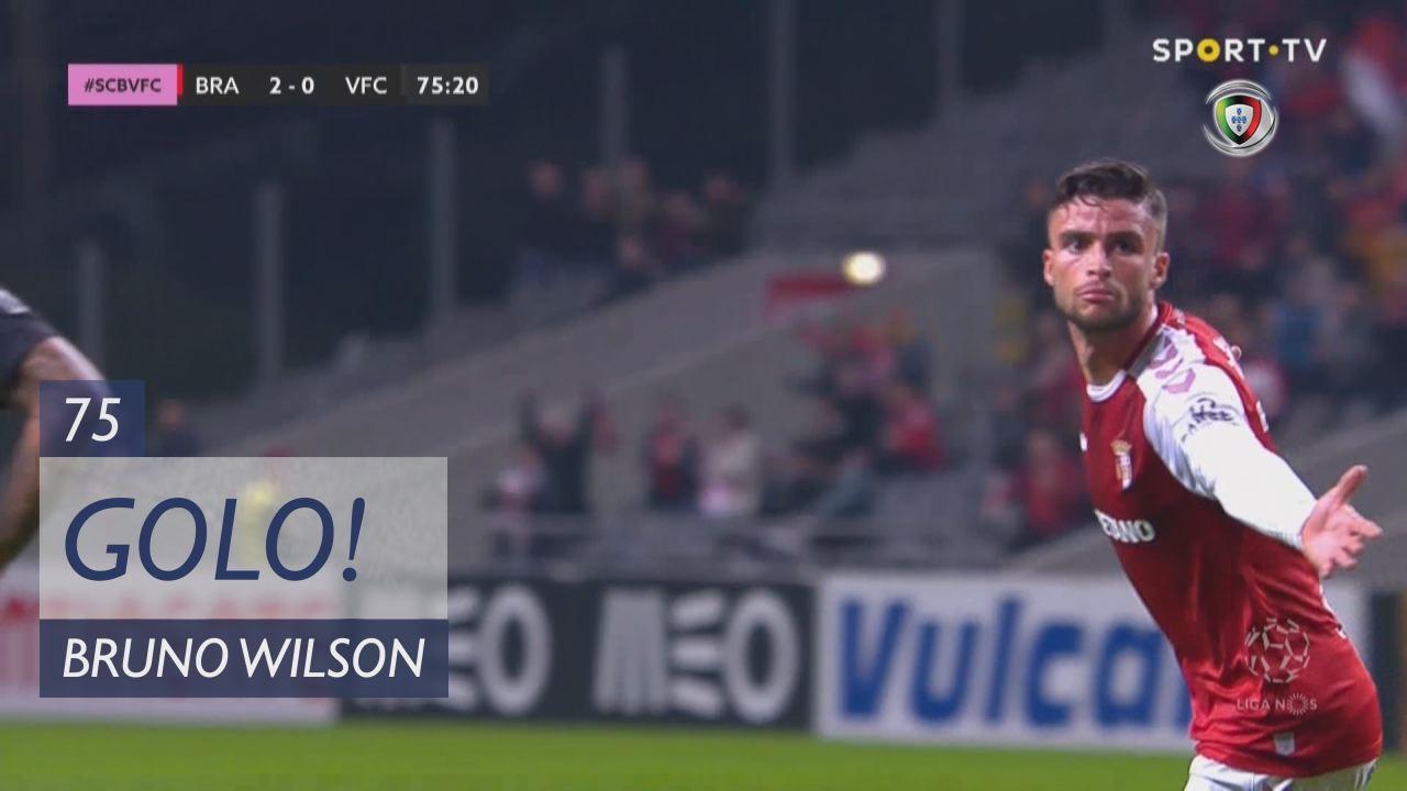 GOLO! SC Braga, Bruno Wilson aos 75', SC Braga 2-0...