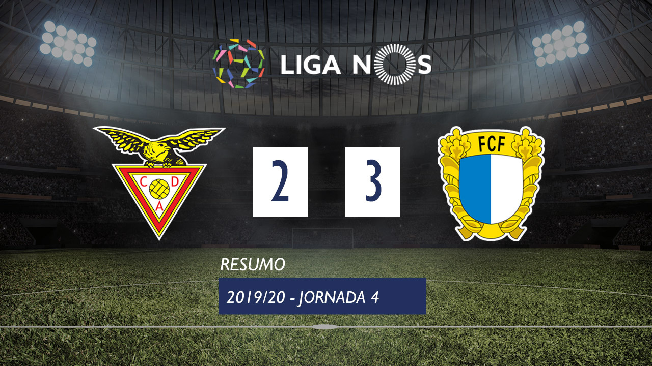 I Liga (4ªJ): Resumo CD Aves 2-3 FC Famalicão