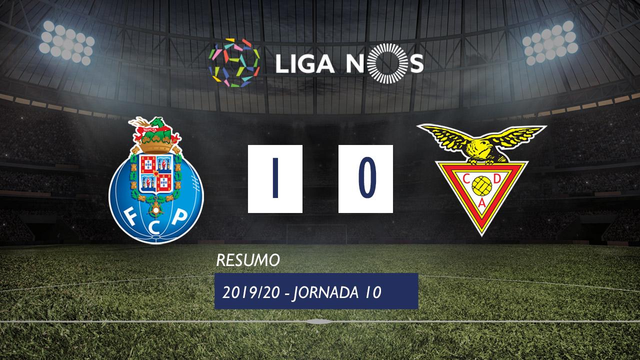 I Liga (10ªJ): Resumo FC Porto 1-0 CD Aves