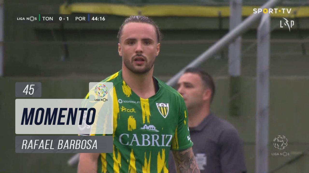CD Tondela, Jogada, Rafael Barbosa aos 45'