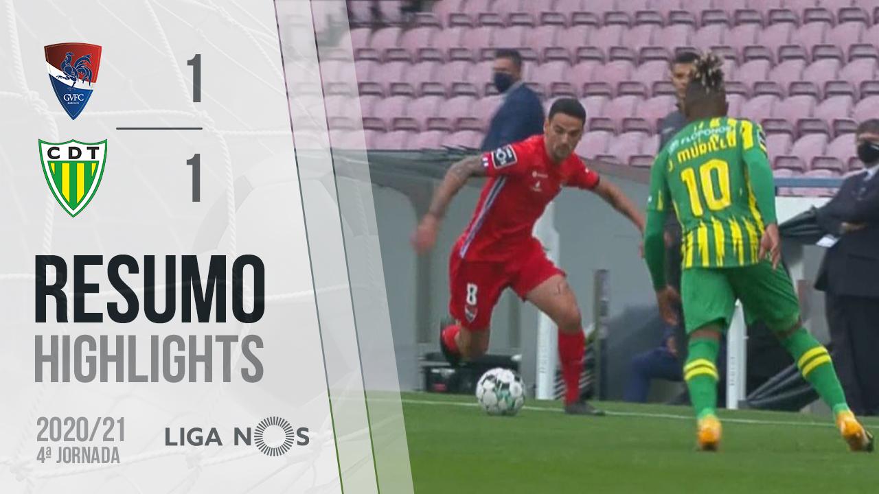 Liga NOS (4ªJ): Resumo Gil Vicente FC 1-1 CD Tondela