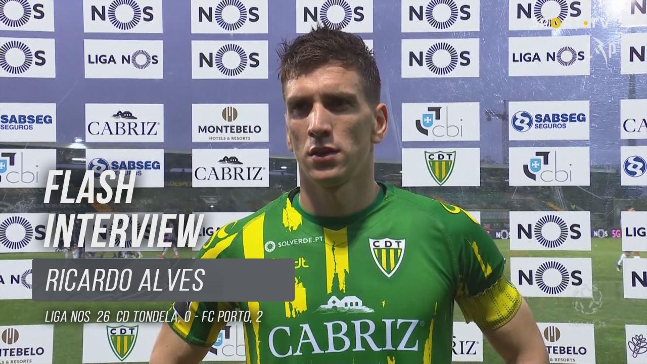 """Ricardo Alves: """"Cada jogo é uma final agora"""""""