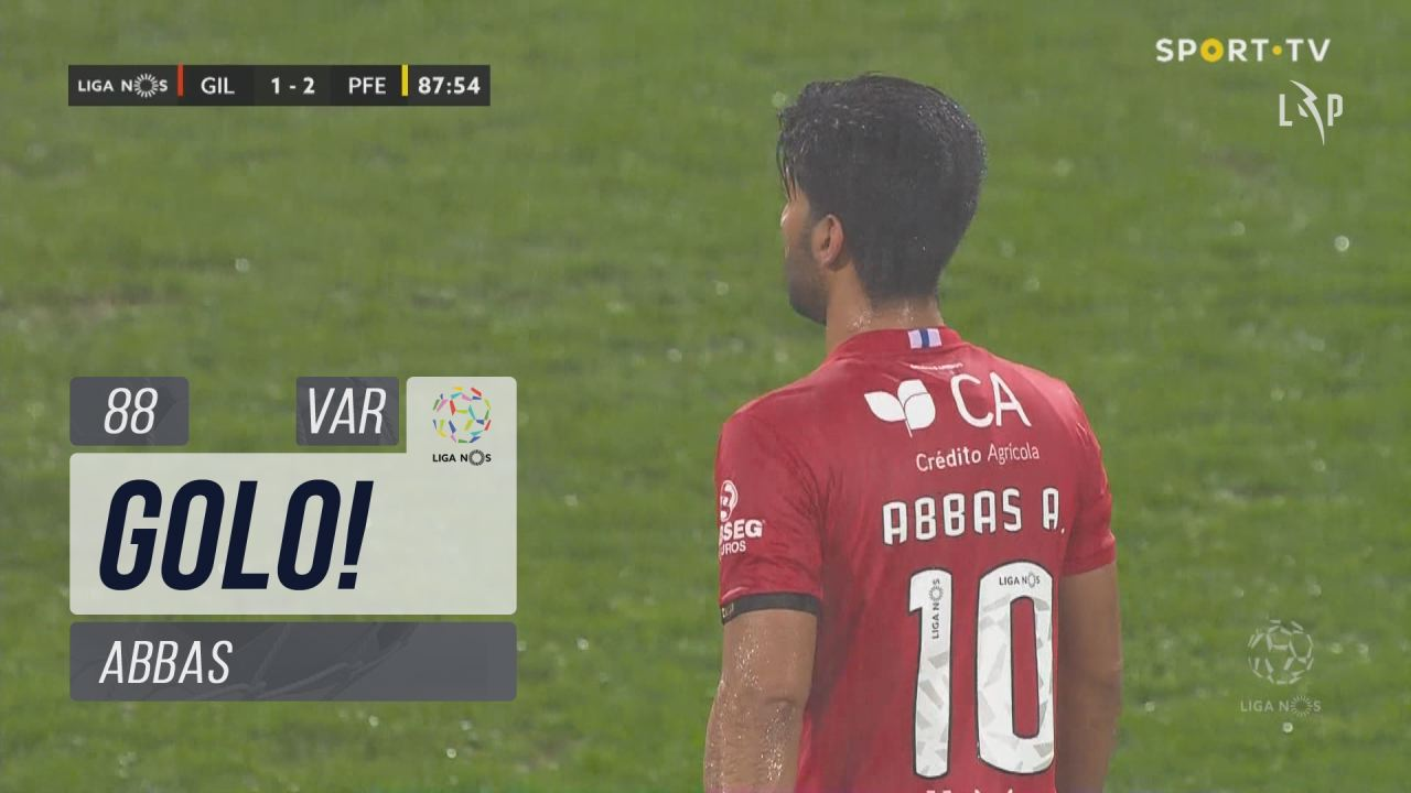 GOLO! Gil Vicente FC, Abbas aos 88', Gil Vicente FC 1-2 FC P.Ferreira