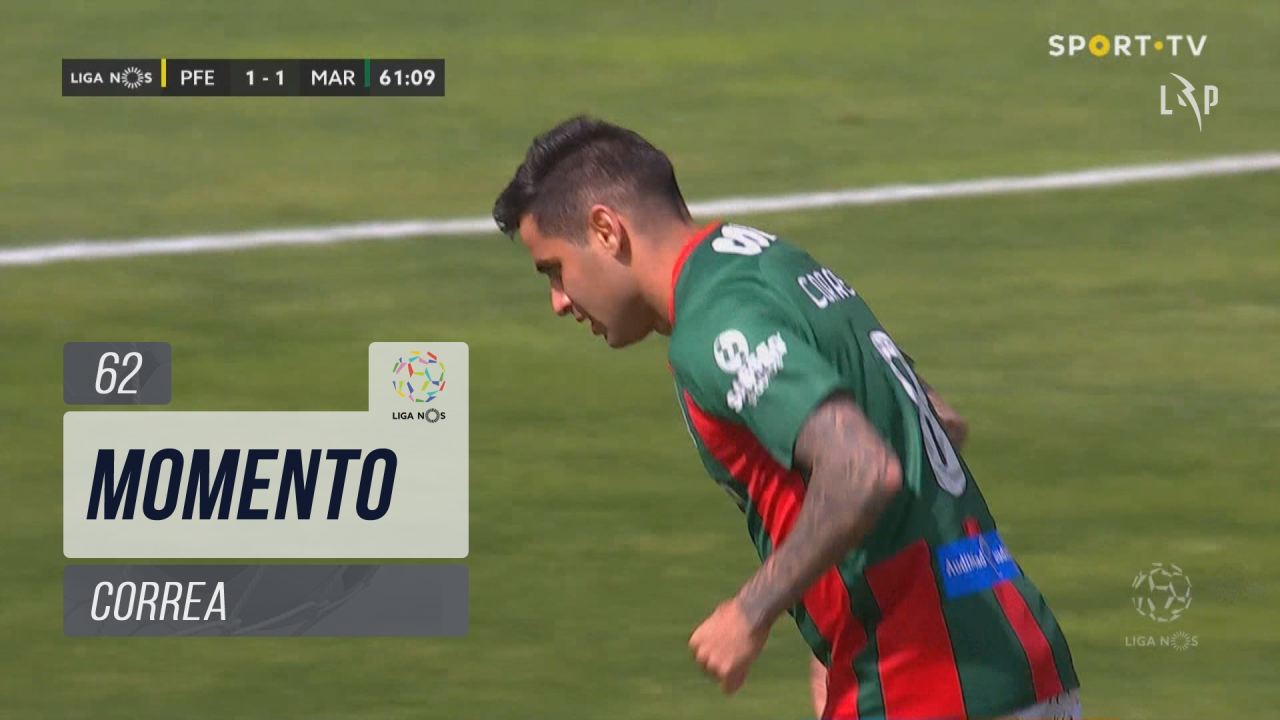Marítimo M., Jogada, Correa aos 62'