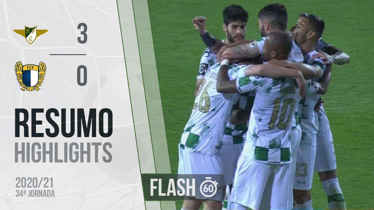I Liga (34ªJ): Resumo Flash Moreirense FC 3-0 FC Famalicão