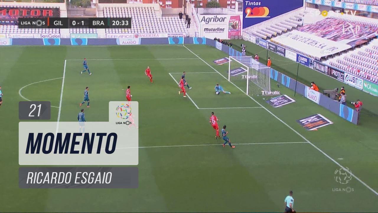SC Braga, Jogada, Ricardo Esgaio aos 21'