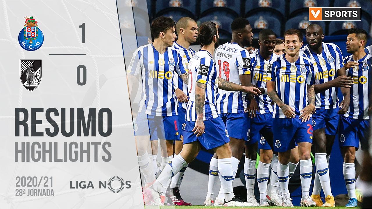 Liga NOS (28ªJ): Resumo FC Porto 1-0 Vitória SC