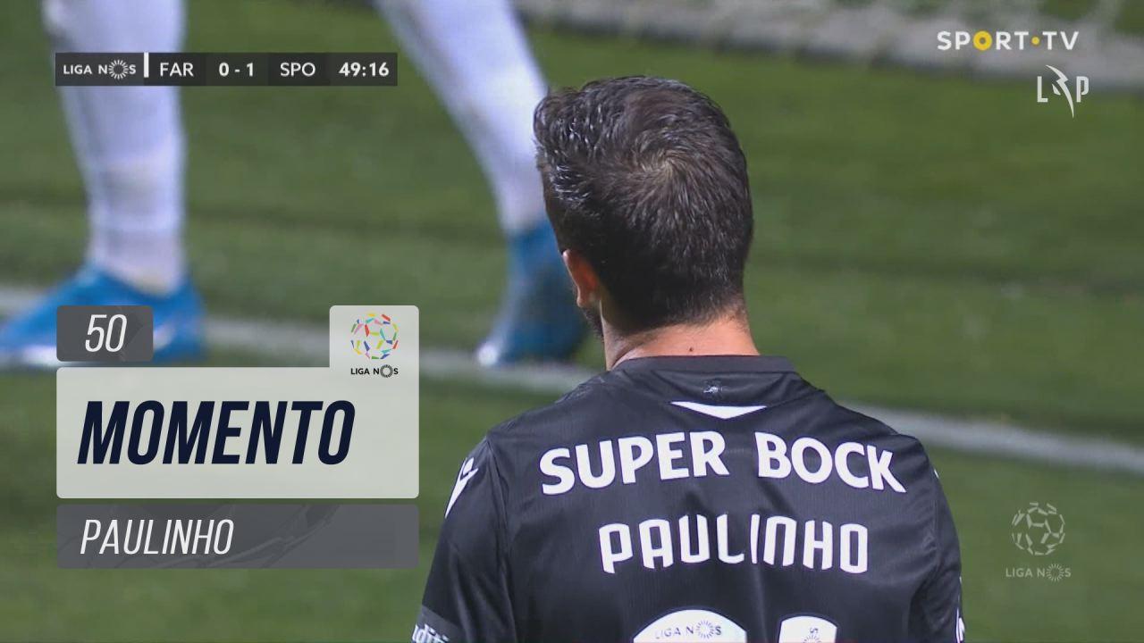 Sporting CP, Jogada, Paulinho aos 50'