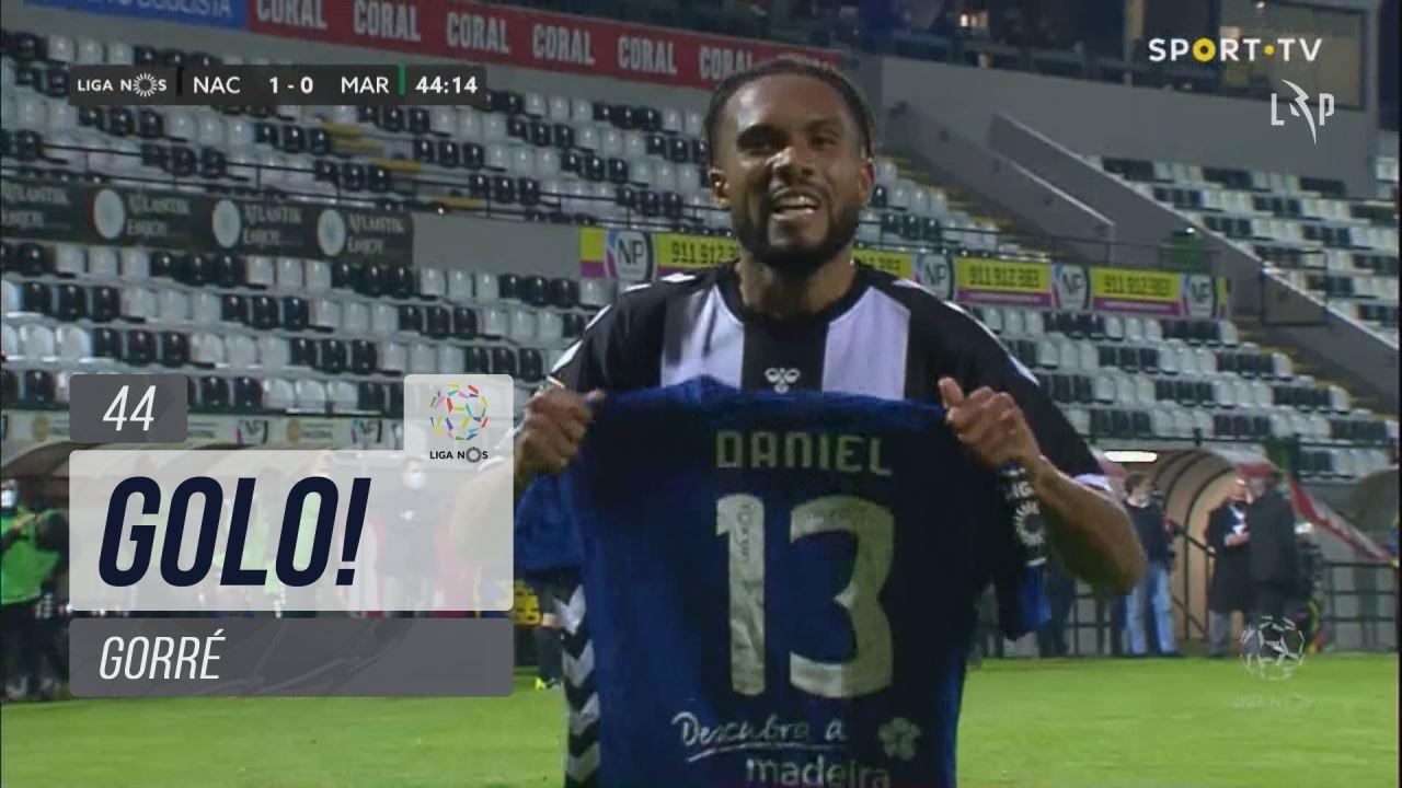 GOLO! CD Nacional, Gorré aos 44', CD Nacional 1-0 Marítimo M.