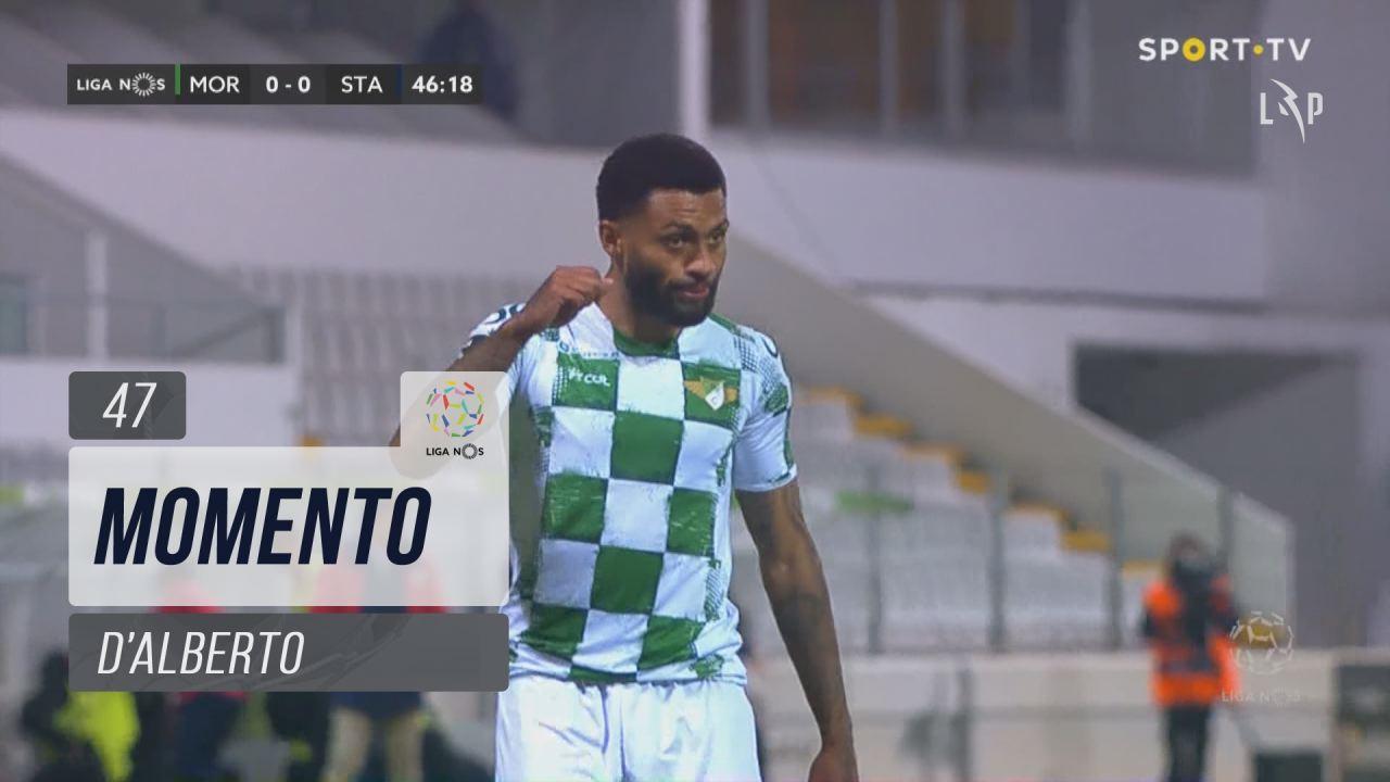 Moreirense FC, Jogada, D'Alberto aos 47'