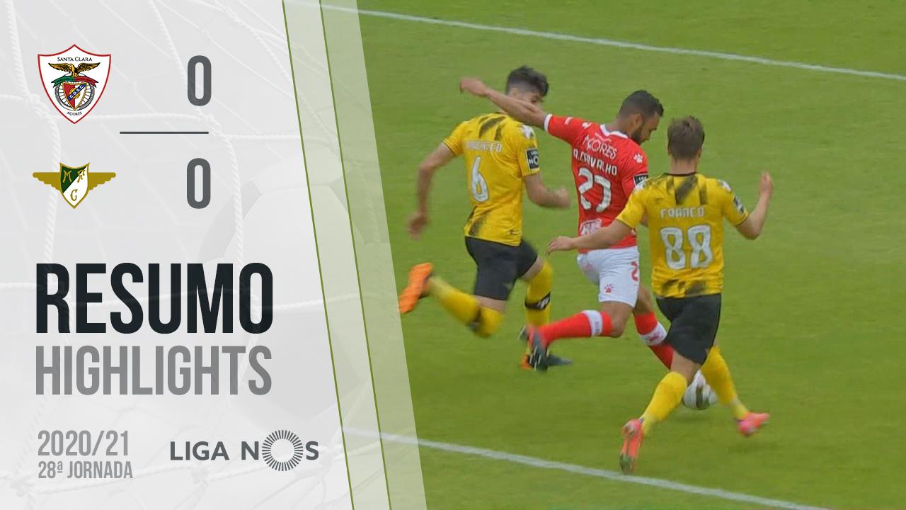 I Liga (28ªJ): Resumo Santa Clara 0-0 Moreirense FC
