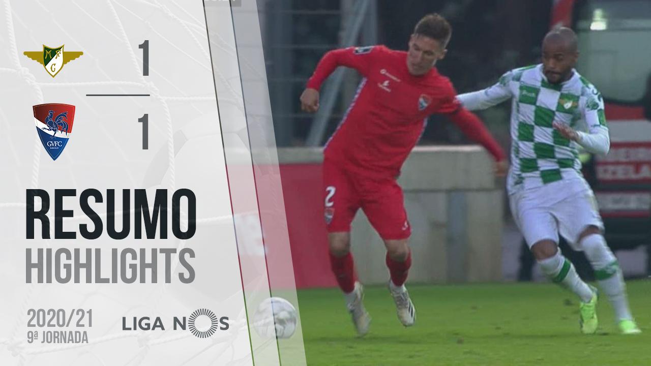 Liga NOS (9ªJ): Resumo Moreirense FC 1-1 Gil Vicente FC