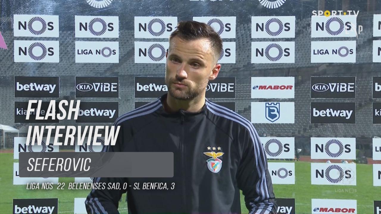 """Seferovic: """"O mais importante é ganhar"""""""