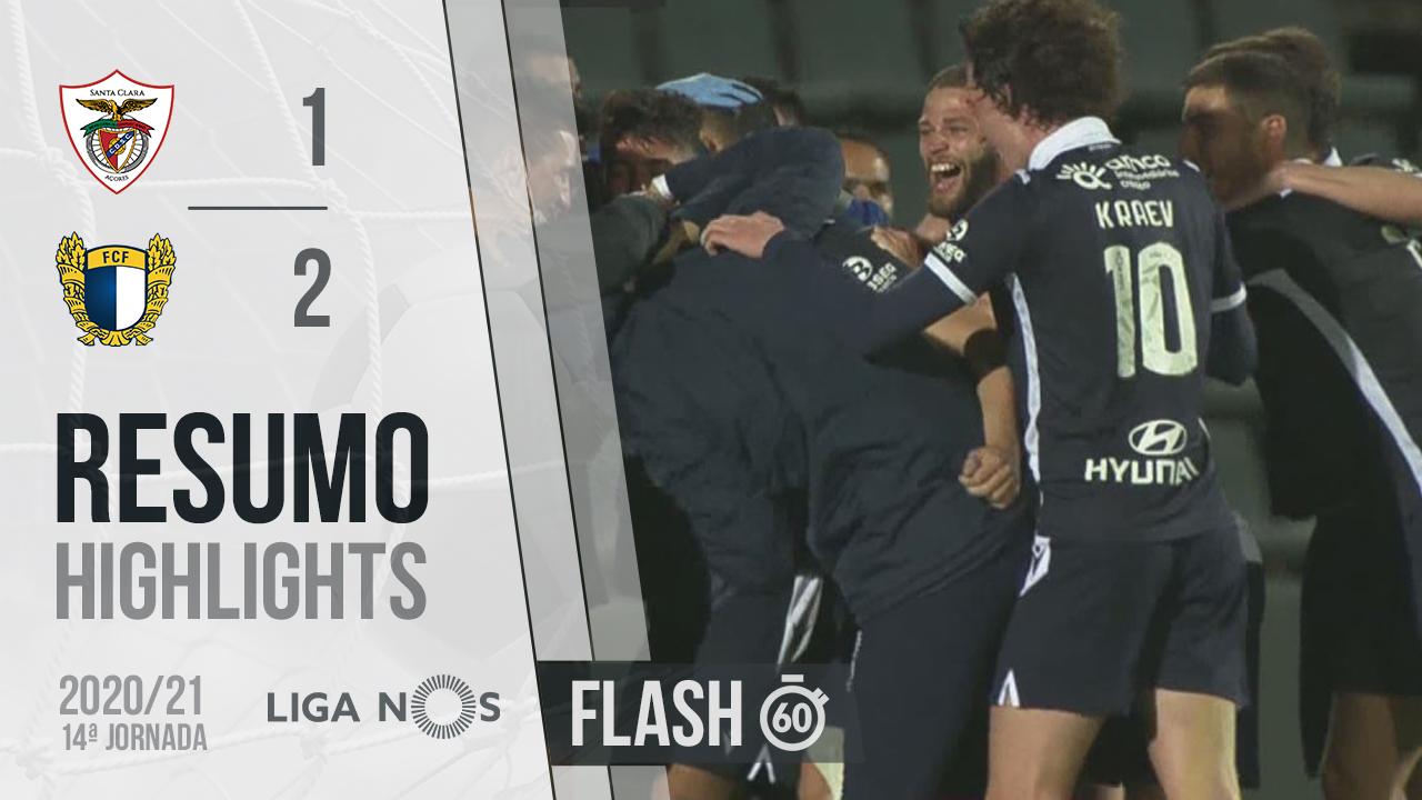 I Liga (14ªJ): Resumo Flash Santa Clara 1-2 FC Famalicão