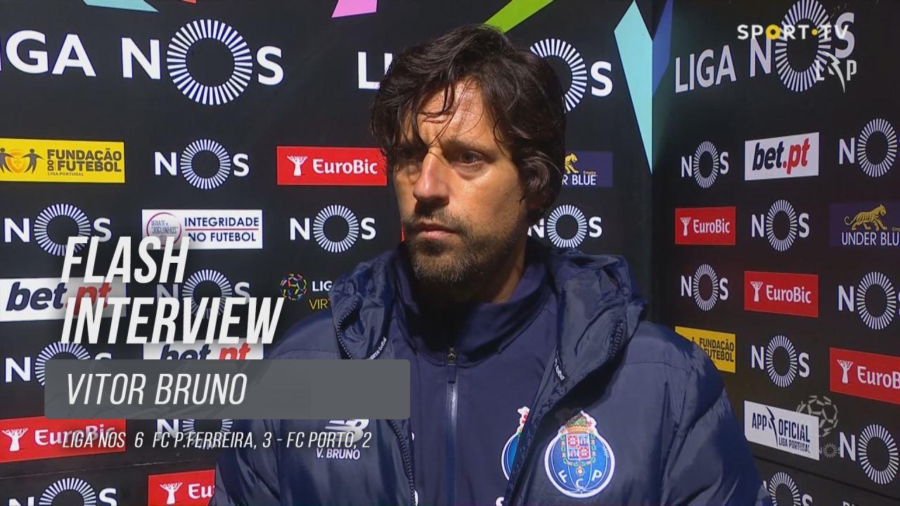 """Vítor Bruno: """"O Paços ganhou bem"""""""
