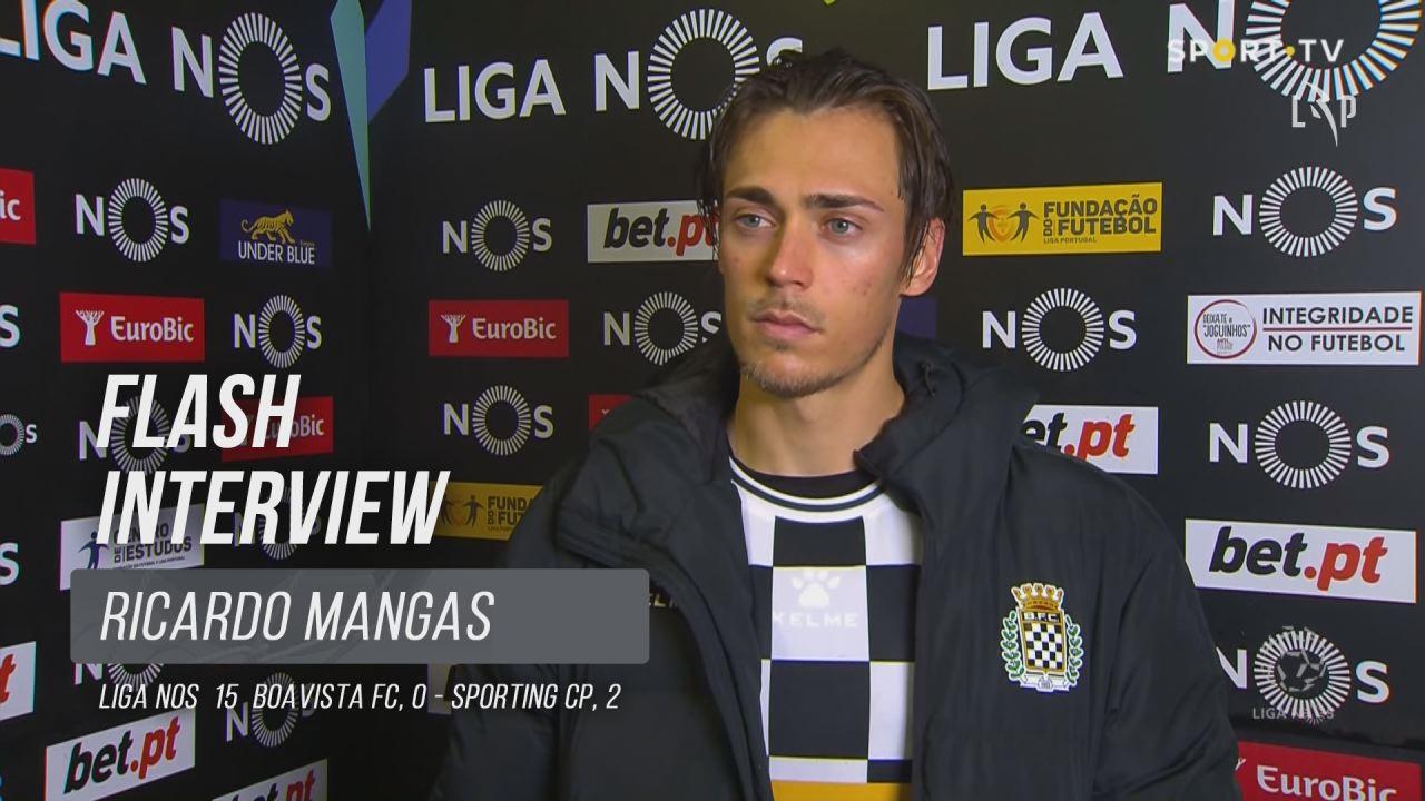 """Ricardo Mangas: """"As coisas vão melhorar daqui para a frente"""""""