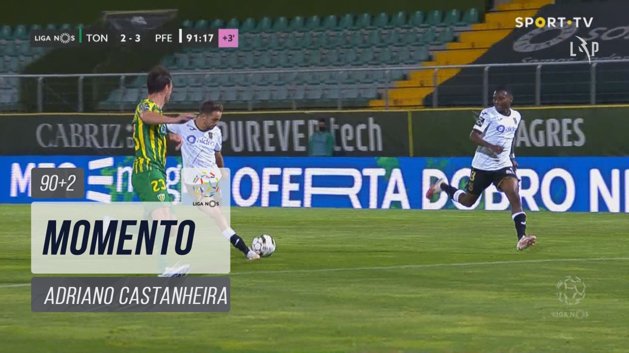 FC P.Ferreira, Jogada, Adriano Castanheira aos 90'+2'