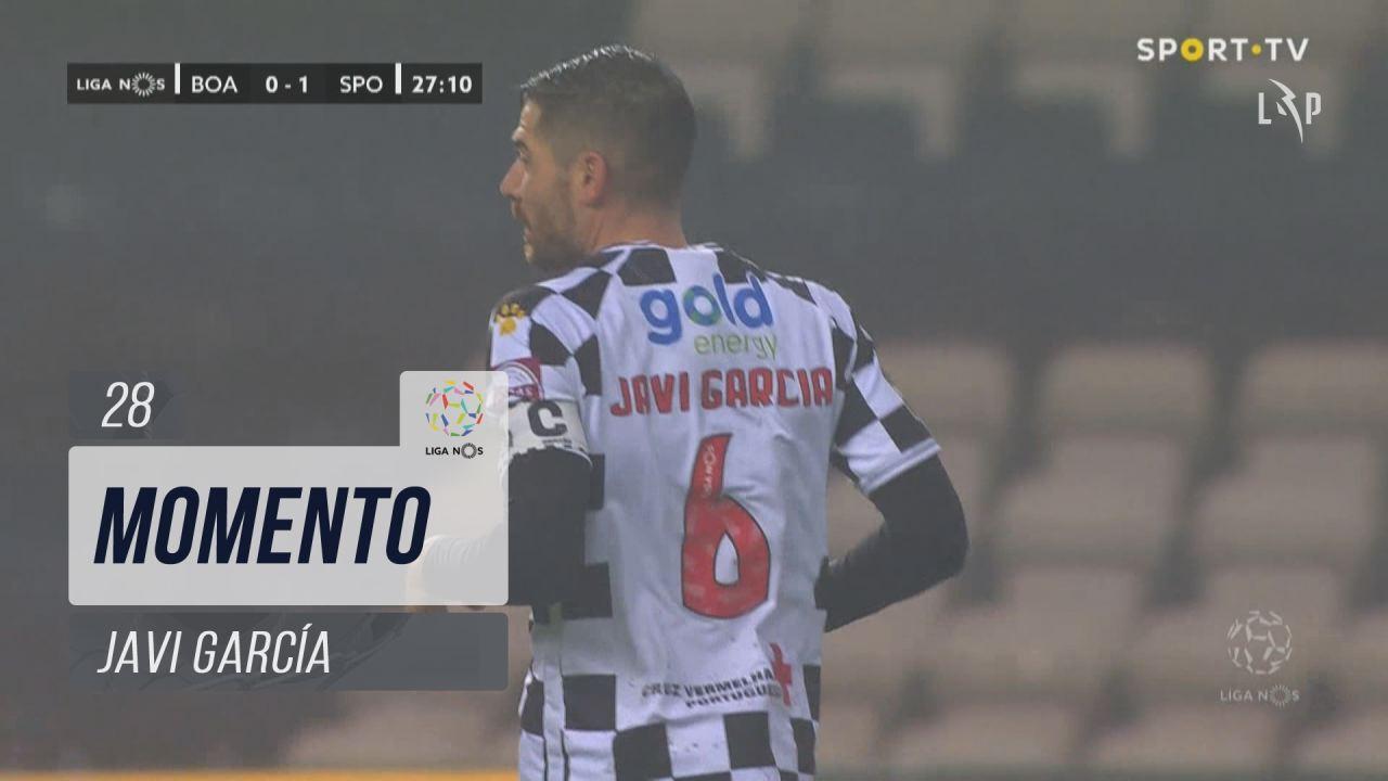 Boavista FC, Jogada, Javi García aos 28'