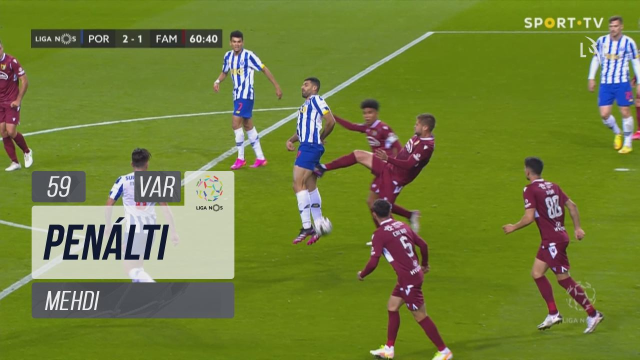 FC Porto, Penálti, Mehdi aos 59'