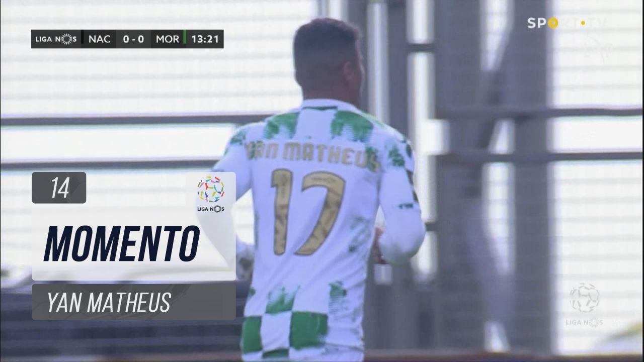 Moreirense FC, Jogada, Yan Matheus aos 14'