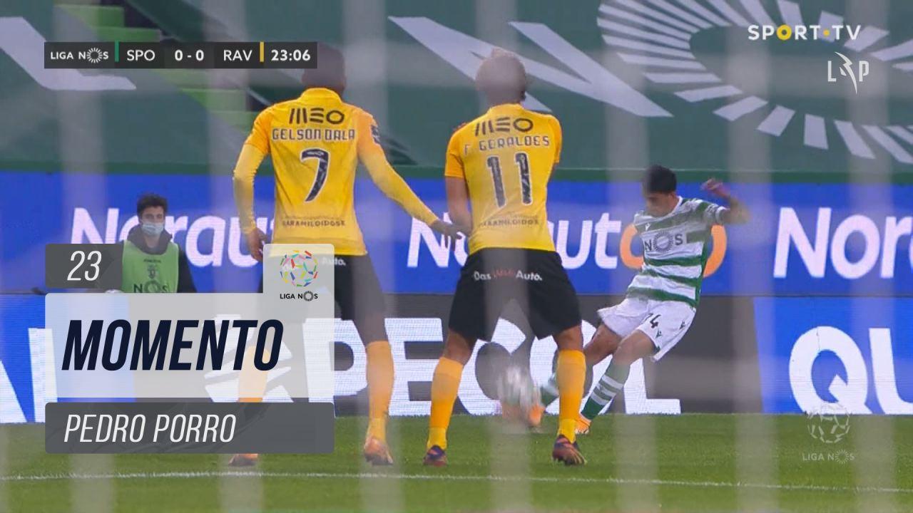 Sporting CP, Jogada, Pedro Porro aos 23'