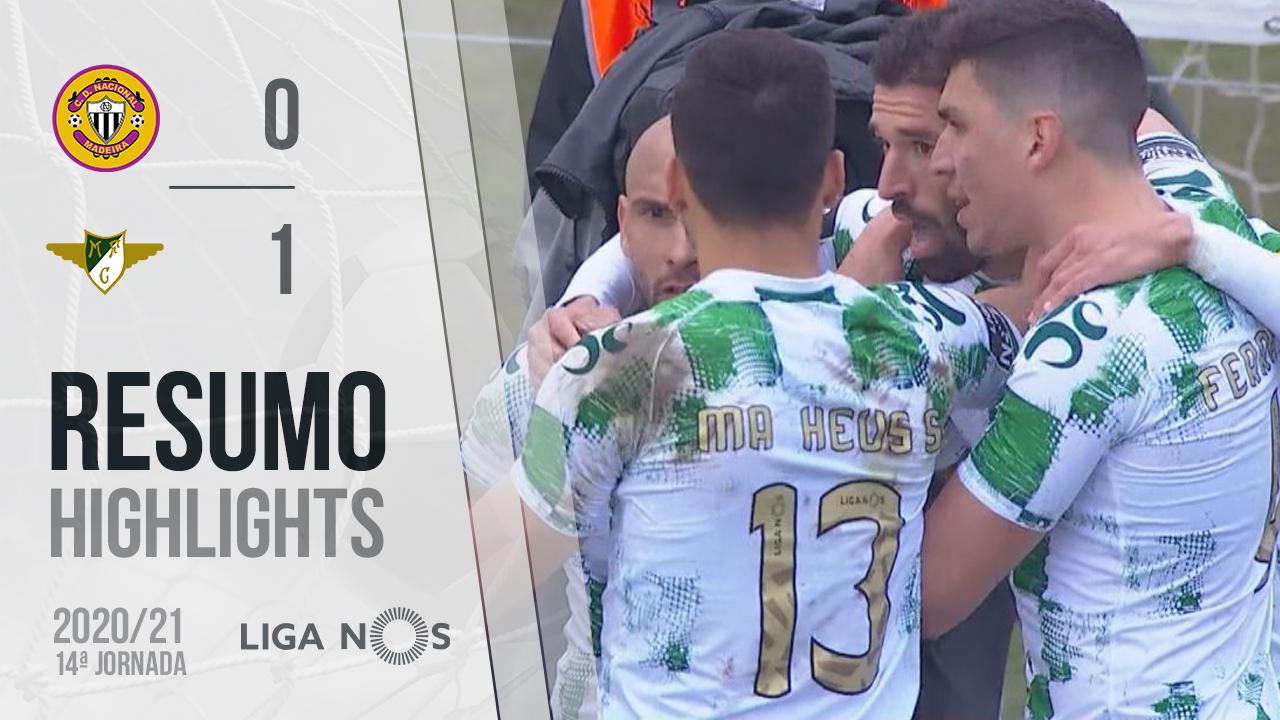 Liga NOS (14ªJ): Resumo CD Nacional 0-1 Moreirense FC