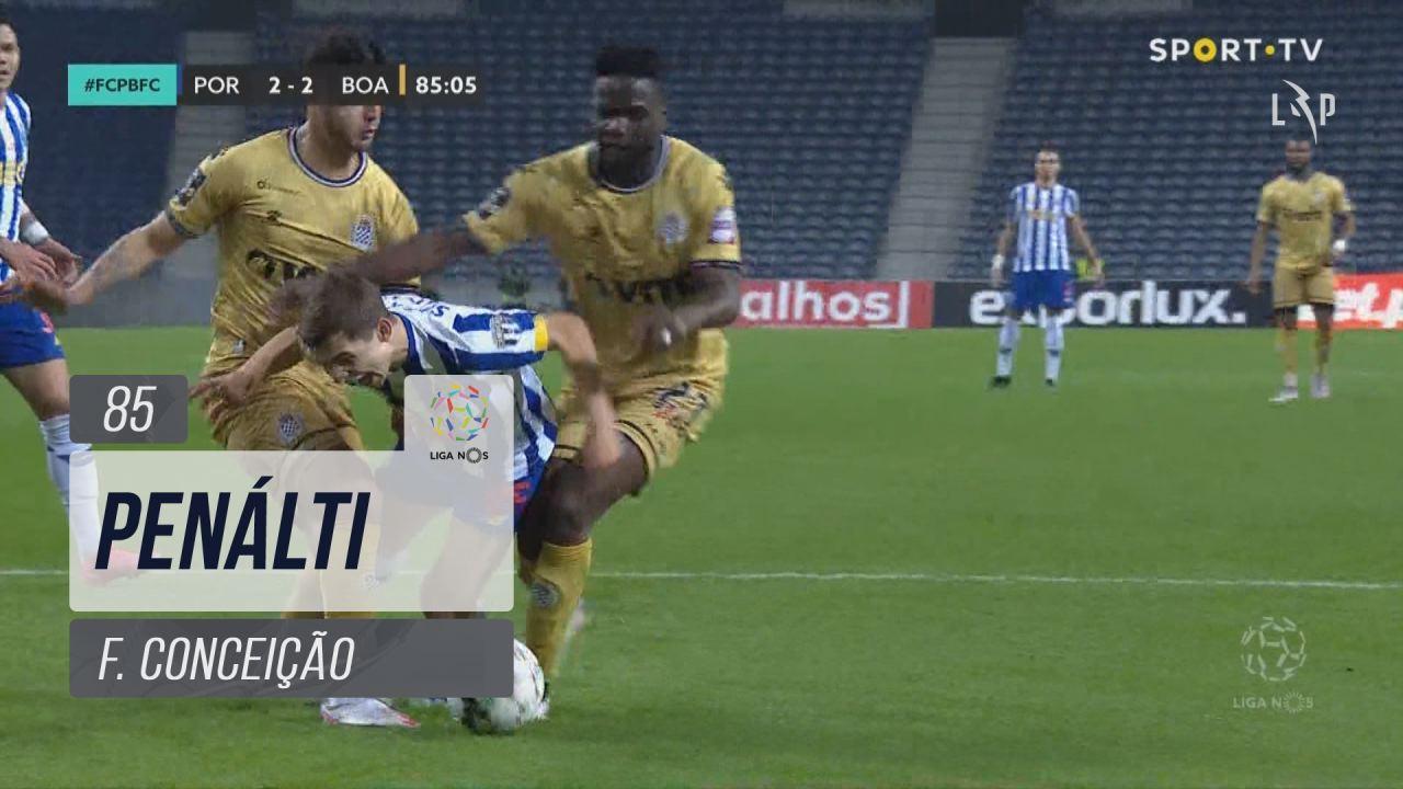 FC Porto, Penálti, F. Conceição aos 85'