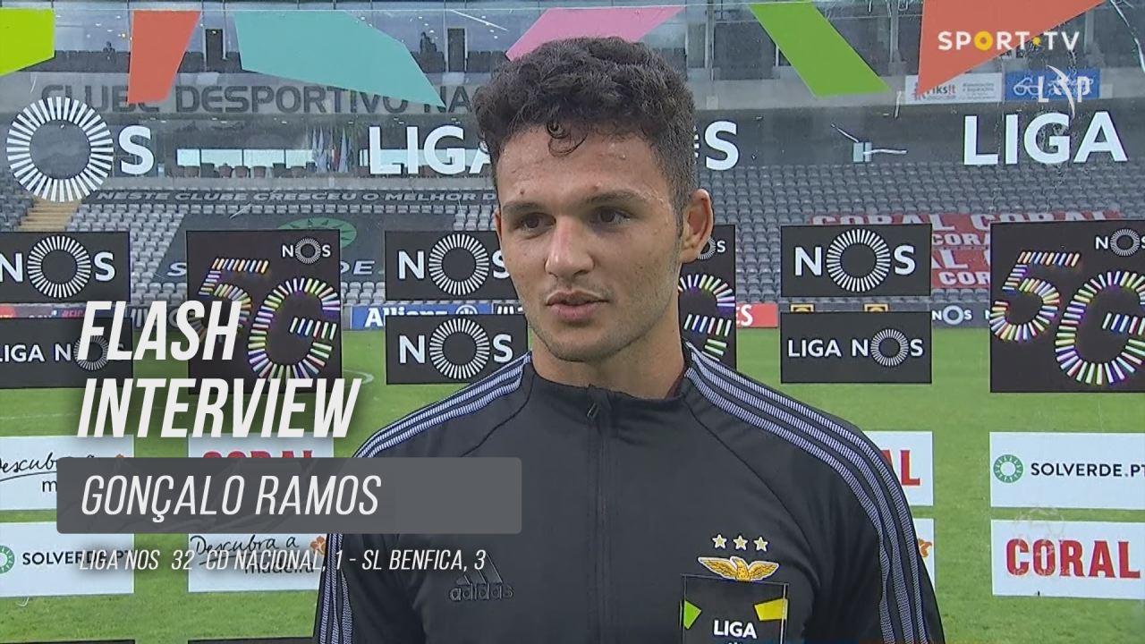 """Gonçalo Ramos: """"Todas as oportunidades são para aproveitar"""""""
