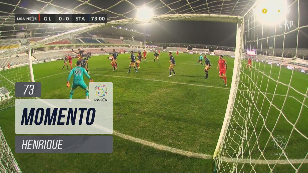 Gil Vicente FC, Jogada, Henrique aos 73'