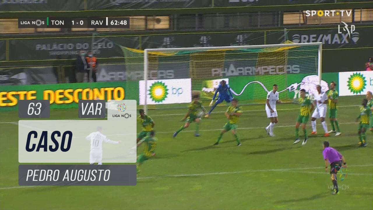 Rio Ave FC, Caso, Pedro Augusto aos 63'