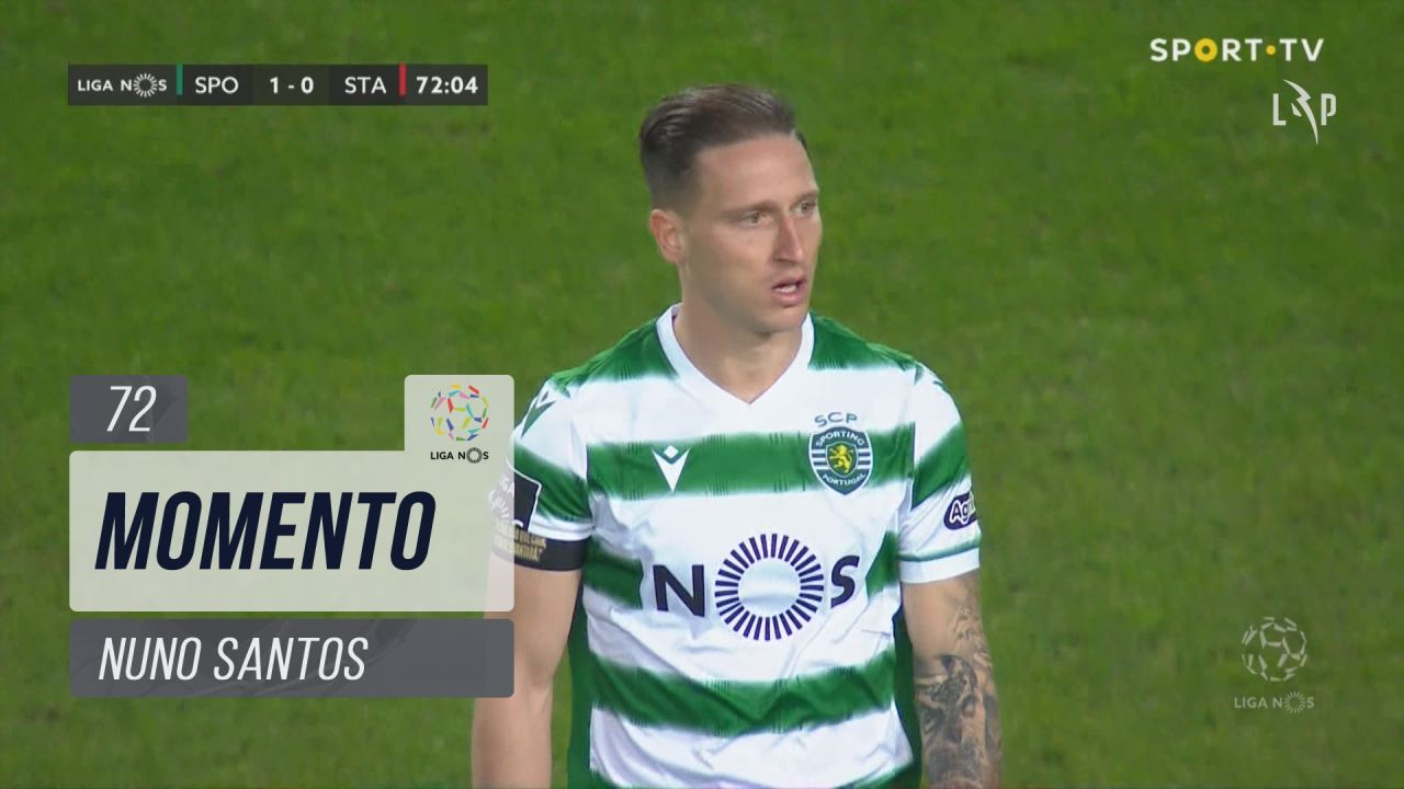 Sporting CP, Jogada, Nuno Santos aos 72'
