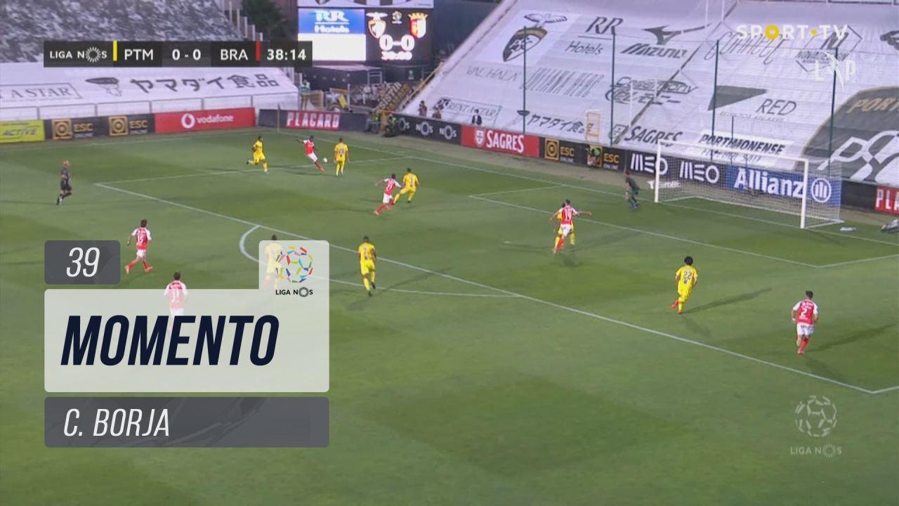 SC Braga, Jogada, C. Borja aos 39'