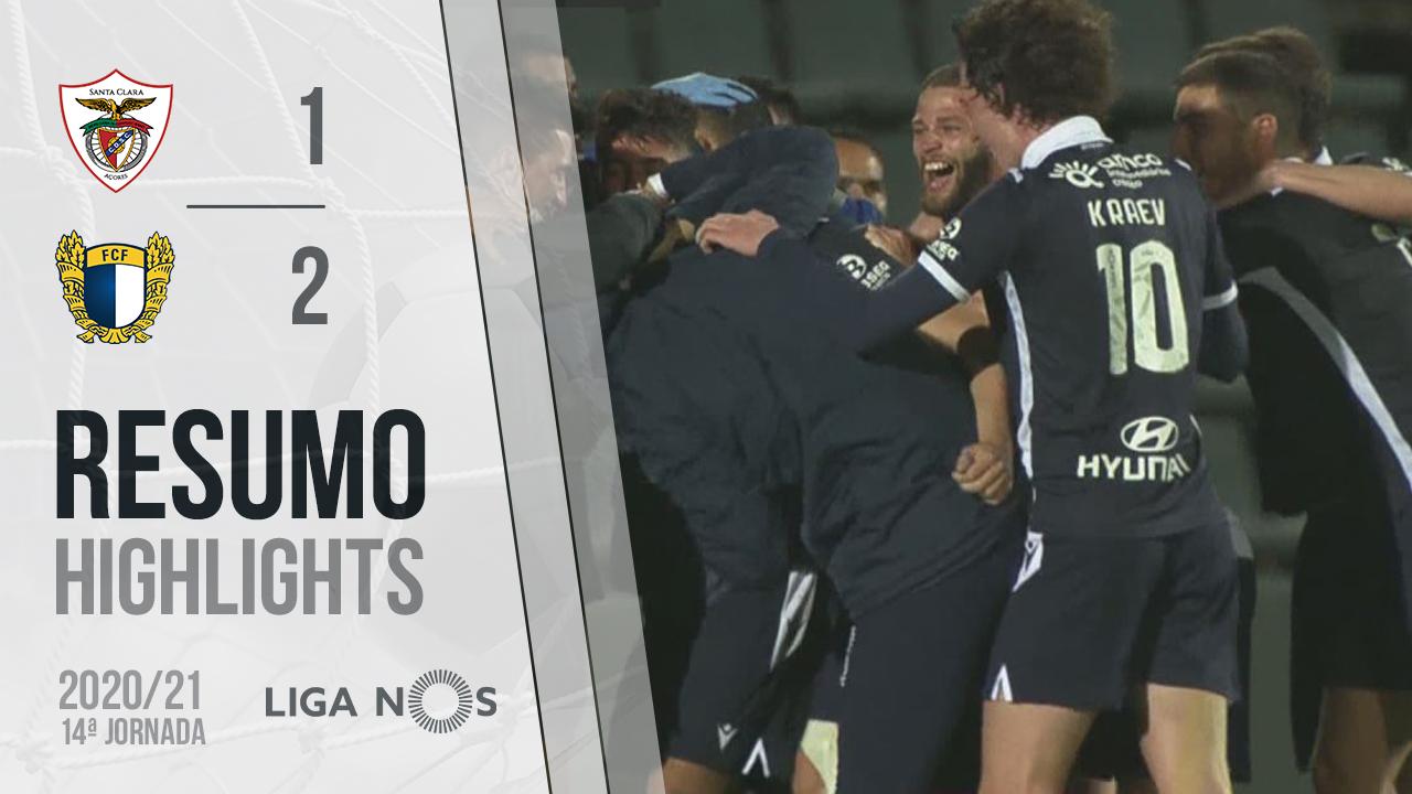 Liga NOS (14ªJ): Resumo Santa Clara 1-2 FC Famalicão