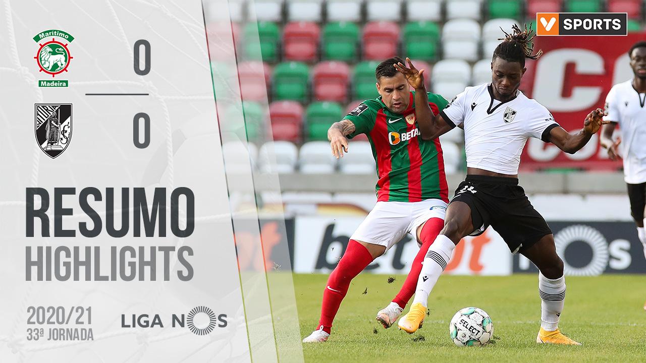 I Liga (33ªJ): Resumo Marítimo M. 0-0 Vitória SC