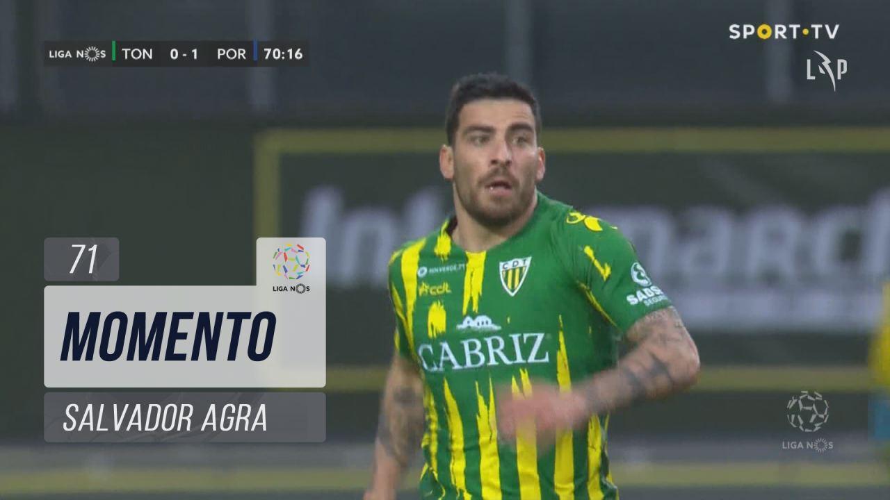 CD Tondela, Jogada, Salvador Agra aos 71'
