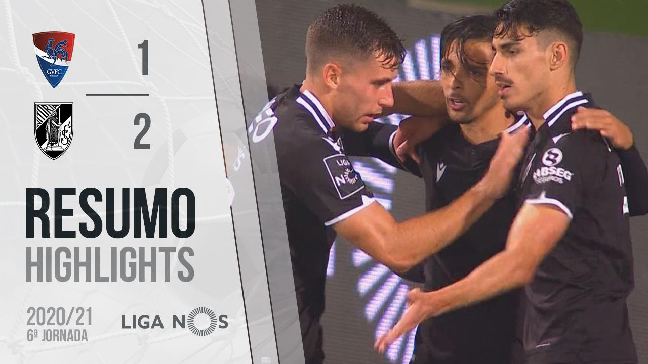 Liga NOS (6ªJ): Resumo Gil Vicente FC 1-2 Vitória SC